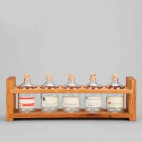 Peg And Awl Apothecary Spice Rack- Brown One