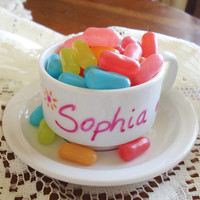 Personalized Childs Tea Cup