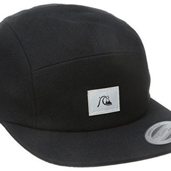 Quiksilver Men's Solid Sunday Camper Hat, Black, One Size