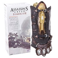 Assassin's Creed Action Figures Weapon Syndicate Gauntlet With Hidden Blace 1:1 PVC Anime Game Assassin Creed Model Toys