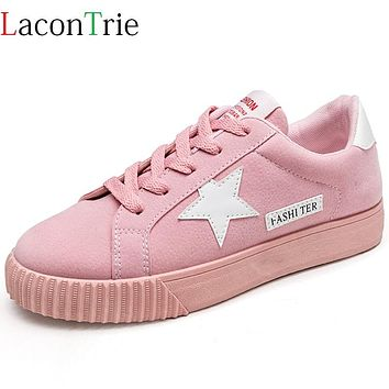 Fashion Flats Women Trainers Breathable Sport Woman Shoes Casual Comfortable Damping Eva Soles Platform Pink Shoes Zapatill