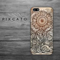 Blaudzun's heavy Flowers - Iphone 4/4S Case - 3D Iphone Case - Hard Plastic Case