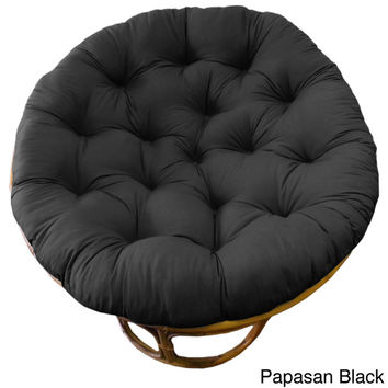 Celebration Solid 45-inch Tufted Papasan Cushion | Overstock.com Shopping - The Best Deals on Throw Pillows