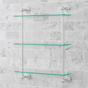 Sussex Triple Glass Shelf