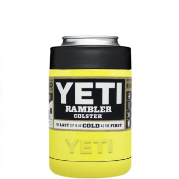 Custom YETI Colster Sunshine Yellow Design Your Own Bottle & Can Cooler
