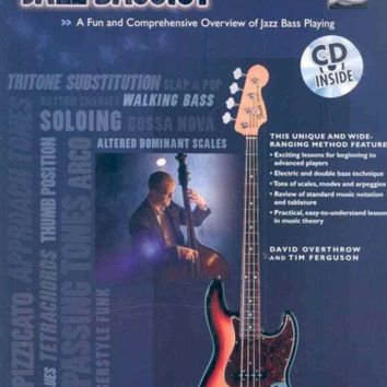 DCCKB62 The Total Jazz Bassist: A Fun and Comprehensive Overview of Jazz Bass Playing