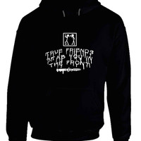 Bring Me The Horizon True Friends Stab You In The Front Stab Illustrations Hoodie