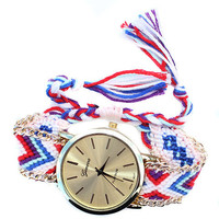 Summer Friendship Bracelet Watch