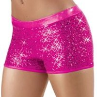 Metallic Dance Shorts - Balera