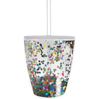 Slant Collections- 10 Oz. Double Wall DOF - Multi Confetti