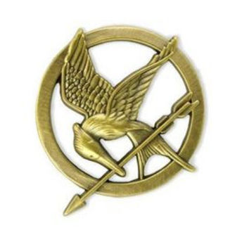 mocking jay pin hunger game  jewelry by ringearringpendant on Etsy