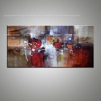 Modern wall art Abstract canvas Painting oil painting Posters and Decor on canvas No frame Pictures Decoration For Living Room