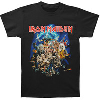 Iron Maiden Men's  Best Of The Beast T-shirt Black Rockabilia