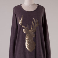 Golden Forest Sweater - Brown