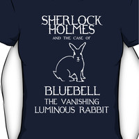 Sherlock Holmes and the case of Bluebell the vanishing luminous rabbit