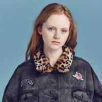 Lazy Oaf Denim Patch jacket