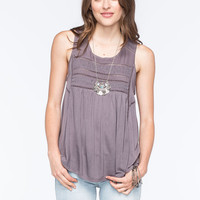 O'neill Tokeen Womens Knit Tank Gray  In Sizes