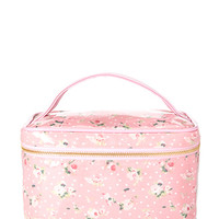 Mod Floral Travel Cosmetic Case