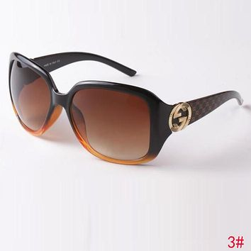 ceb50cb59ec GUCCI Classic Popular Women Men Casual Summer Sun Shades Eyeglas