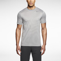 Nike Dri-FIT Touch Stripe Men's Training Shirt Size Small (Grey)