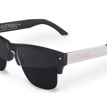 Rockwell Sunglasses: BLACK/SILVER