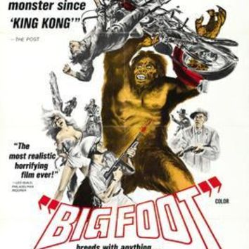 Bigfoot Movie Poster 11 inch x 17 inch poster