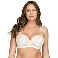 Parfait Briana Padded Bra in Petal Pink Floral Plus Size 32C-44FF