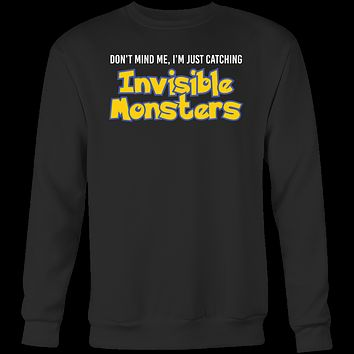 POKEMON INVISIBLE MONSTERS Sweatshirt T Shirt - TL00622SW