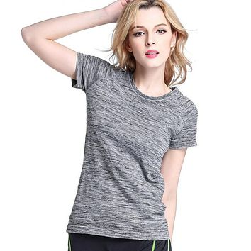T Shirts For Women Compression Tights T-shirt Tops Dry Quick Short Sleeve T-shirts Women Clothes
