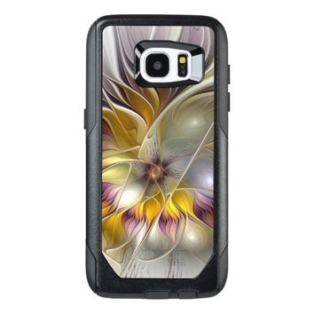 Abstract Colorful Fantasy Flower Modern Fractal OtterBox Samsung Galaxy S7 Edge Case