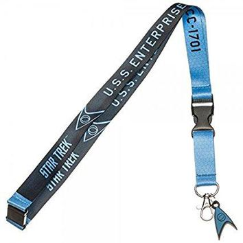 Star Trek Blue Lanyard