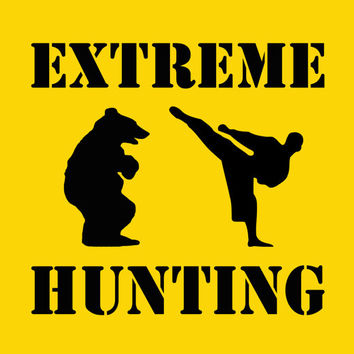 Extreme Hunting Shirt Funny T Shirt Mens Tee Kids Tshirt Youth Humorous Boys Size S M L XL 2XL 3XL 4XL Printed Yellow Red Green White Cotton