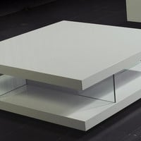 A&X 8916 - White High Gloss Coffee Table
