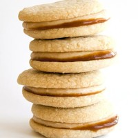 Salted Caramel Peanut Butter Sandwich Cookie – Set of 2