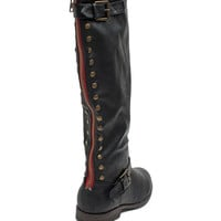 Montage-83 Stud Pop Riding Boot