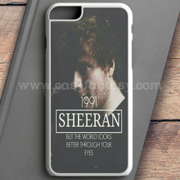 Ed Sheeran Music Tracklist iPhone 6S Plus Case | casefantasy