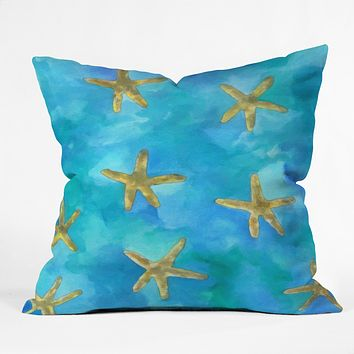 Rosie Brown Wish Upon A Star Throw Pillow