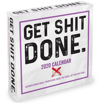 Get Shit Done Daily Page Desktop