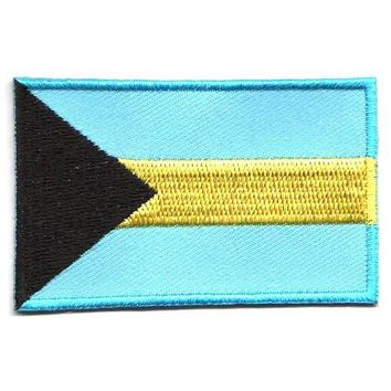 BACKPACKFLAGS flag patch Bahamas