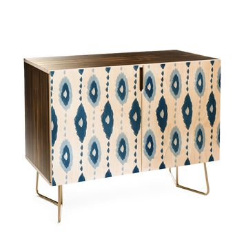 Allyson Johnson Authentic Blues 2 Credenza