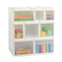 Like-it® White Modular Drawers