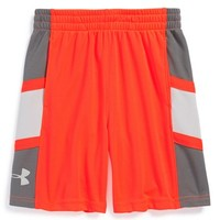 Boy's Under Armour 'Buzzer Beater' HeatGear Shorts