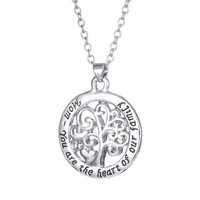Ivonne Tree of Life Necklace, Engraved Mother's Day Gifts