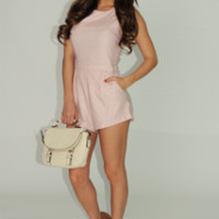 Teenage Dream Romper: Cotton Candy | Hope's