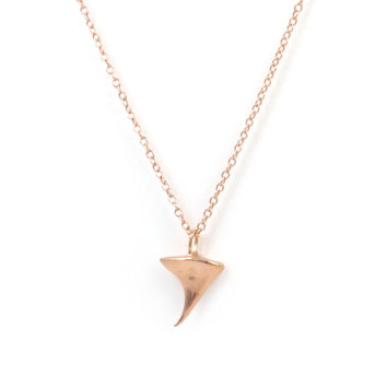 Rose Thorn Necklace, rose gold - Necklaces - Catbird