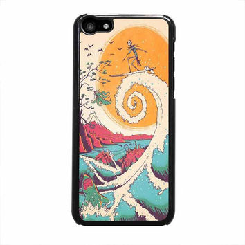 surf before christmas iphone 5c 5 5s 4 4s 6 6s plus cases
