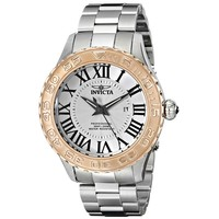 Invicta 14539 Men's Pro Diver Silver Dial Steel Bracelet Quartz Dive Watch