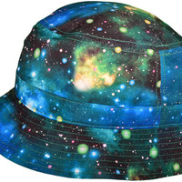 KB Green Galaxy Bucket Hat