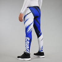 Sleefs Savage 2.0 Blue Tights for men