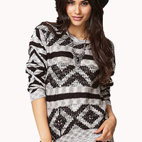 Forever Cool Geo Sweater